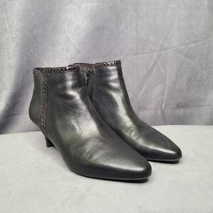 Rockport leather booties